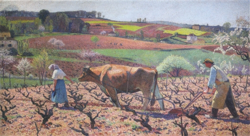 HM - laboureurs preparent les vignes dans le quercy.jpg